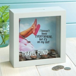 Travel Fund Shadowbox Bank found on Bargain Bro India from colorfulimages.com for $18.99