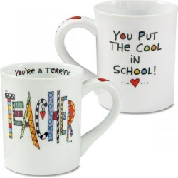 Teacher Stoneware Mug