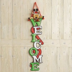Reindeer Welcome Door Banner found on Bargain Bro India from colorfulimages.com for $10.99