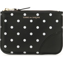 COMME DES GARCONS WALLET POLKA DOTS POUCH OS Black, White Leather found on Bargain Bro UK from Coltorti Boutique EU