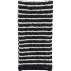 SAINT LAURENT MAILLE MARINIERE KNIT SCARF OS Black, White Wool found on Bargain Bro UK from Coltorti Boutique EU