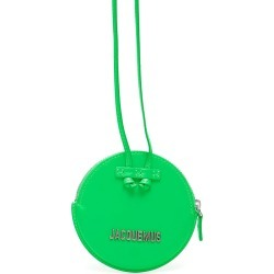JACQUEMUS LE PITCHOU ROUND PURSE OS Green Leather found on Bargain Bro UK from Coltorti Boutique EU
