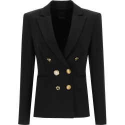 PINKO ALEXIA 1 DOUBLE-BREASTED BLAZER 40 Black found on MODAPINS from Coltorti Boutique US for USD $358.00