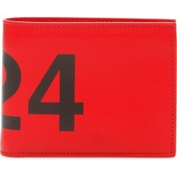 424 BIFOLD WALLET WITH LOGO OS Red, Black Leather found on Bargain Bro UK from Coltorti Boutique EU