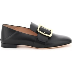 BALLY JANELLE LEATHER LOAFERS 37 Black Leather found on MODAPINS from Coltorti Boutique US for USD $497.00