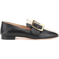 BALLY JANELLE LOAFERS 36 Black, White Leather found on MODAPINS from Coltorti Boutique EU for USD $363.92