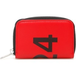 424 CARD HOLDER POUCH WITH LOGO OS Red, Black Leather found on Bargain Bro UK from Coltorti Boutique EU