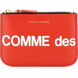 COMME DES GARCONS WALLET POUCH WITH HUGE LOGO OS Red, White Leather found on Bargain Bro UK from Coltorti Boutique EU