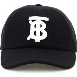 BURBERRY JERSEY BASEBALL CAP TB M Black, White Cotton found on Bargain Bro India from Coltorti Boutique US for $297.00
