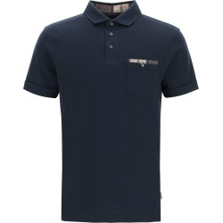 BARBOUR CORPATCH COTTON POLO SHIRT S Blue Cotton found on Bargain Bro UK from Coltorti Boutique EU