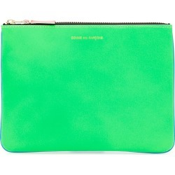 COMME DES GARCONS WALLET SUPER FLUO POUCH OS Green, Blue Leather found on Bargain Bro UK from Coltorti Boutique EU