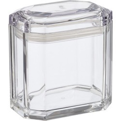 Beveled Lid Container