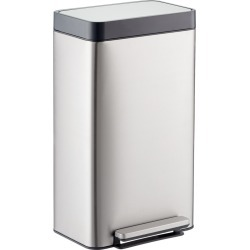 Loft Stainless Steel Step Can found on Bargain Bro India from The Container Store for $99.99