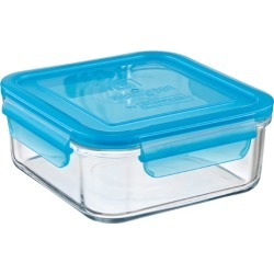 Square Glass Container