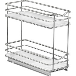 Narrow Double Spice Rack found on Bargain Bro India from The Container Store for $44.99