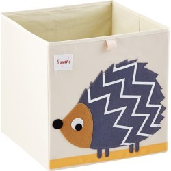 Hedgehog Toy Storage Cube