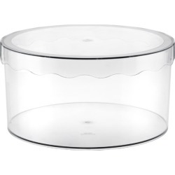 Clarity Hat Box found on Bargain Bro India from The Container Store for $29.99