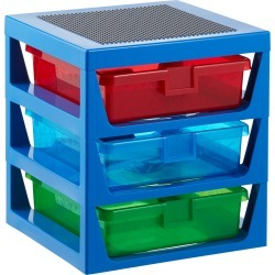 3-Tier Drawer w/ Baseplate found on Bargain Bro India from The Container Store for $39.99