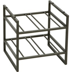 Iron Stacking Wine Rack
