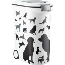Pet Dry Food Container Dog