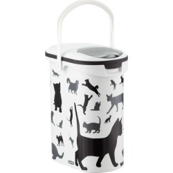 Pet Dry Food Container Cat