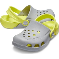 Crocs Kids' Electro Clog Light Grey / Citrus found on Bargain Bro India from Crocs Australia for $27.41
