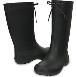 Crocs Women's Crocs Freesail Rain Boot Black found on MODAPINS from Crocs Australia for USD $55.06