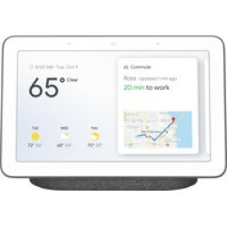 Google Nest Hub Voice Assistant w/ Screen- Charcoal found on Bargain Bro India from Crutchfield.com for $129.00