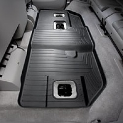 WeatherTech Black Rear Liner  Black Rear FloorLiner Each found on Bargain Bro Philippines from Crutchfield.com for $104.99