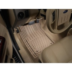 WeatherTech Universal Mats Tan Front and Rear