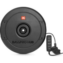 "JBL BassPro Hub  11"" Powered Subwoofer Spare Tire Install"