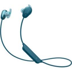 Sony WISP600N/L wireless in-ear sport  noise cancelling headphones (blue)