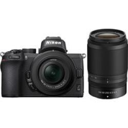 Nikon Z 50 w/ 16-50mm and 50-250mm Lenses