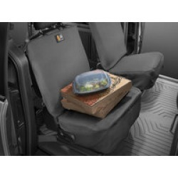 WeatherTech SPB002CH  Front Seat Bucket, Universal, Black found on Bargain Bro India from Crutchfield.com for $137.95