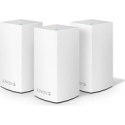 Linksys Velop Dual Band 3-Pack Mesh Wi-Fi System