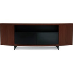 BDI Sweep 8438 Tall Media Console with Curved Face in  Chocolate Stained Walnut found on Bargain Bro India from Crutchfield for $2304.00