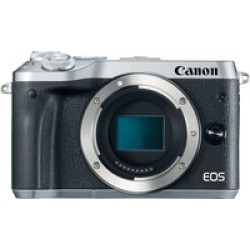 Canon EOS M6 Body Only- Silver found on Bargain Bro India from Crutchfield for $479.00