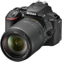 Nikon D5600 DX-Format Digital DSLR, w/  18-140mm VR  Black, 24.2MP,5fps, ISO to 25,600, HD