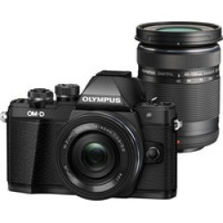 Olympus OM-D E-M10 Mark II Two Lens Kit w/ 14-42mm and  40-150mm lenses found on Bargain Bro India from Crutchfield for $599.00