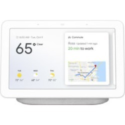 Google Nest Hub Voice Assistant w/ Screen- Chalk found on Bargain Bro India from Crutchfield.com for $129.00