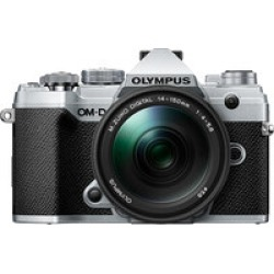 Olympus OM-D E-M5 Mark III Kit w/ 14-150mm Lens- Silver