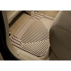 WeatherTech Tan Rear Mats  Tan Rear All-Weather Mats Pair found on Bargain Bro India from Crutchfield.com for $59.99