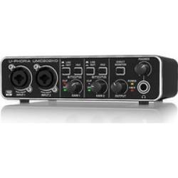 Behringer UMC 202HD  2x2 USB Audio/midi Interface Midas Pre