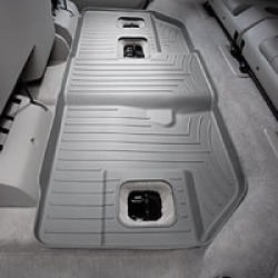 WeatherTech Grey Rear Liner  Grey Rear FloorLiner Each found on Bargain Bro Philippines from Crutchfield.com for $104.99