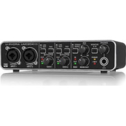 Behringer UMC 204HD  2x4 USB Audio/midi Interface Midas Pre