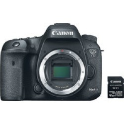 Canon EOS 7D Mark II Body w/ Wi-Fi Kit found on Bargain Bro India from Crutchfield for $1399.00