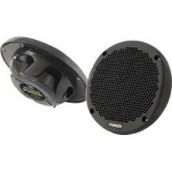 "Fusion MS-EL602B 6"" 2-way Marine Speakers - Black"