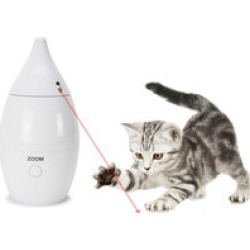 PetSafe Zoom Automatic Laser Toy  Two rotating lasers for multiple cats