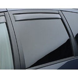 WeatherTech Rear Deflectors  Light Rear Deflectors found on Bargain Bro India from Crutchfield.com for $54.99