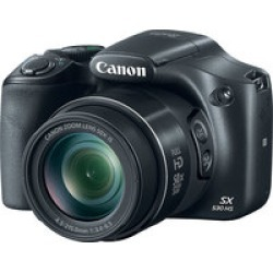 Canon PowerShot SX530 HS Mega-Zoom Camera  16MP, 50X, 1080P, 24mm wide